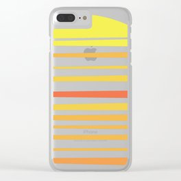 all summer long Clear iPhone Case