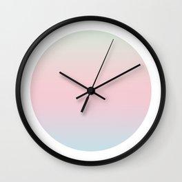 Cotton Round Wall Clock