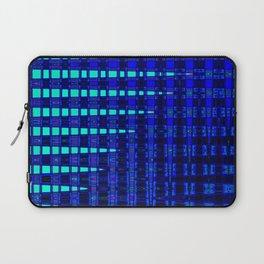 Blue in Shadows Laptop Sleeve
