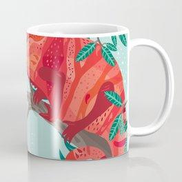 The Red Chameleon  Coffee Mug