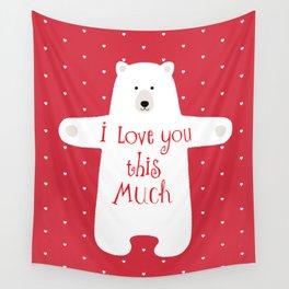 Bear hugs Wall Tapestry