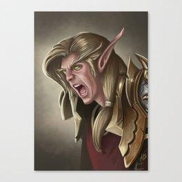 Elven Fury Canvas Print