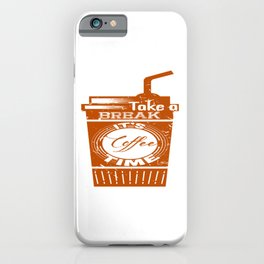 It's Coffee Time iPhone Case