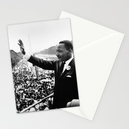 Remembering African American History and Martin Luther King Stationery Cards