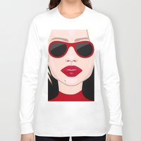 blondie Long Sleeve T-shirts featuring Blondie by VictoriaPodi