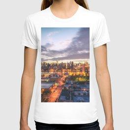 New York City Skyline - Evening T-shirt