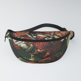 retro scotland   the pipers of the black watch. circa 1930s  Fanny Pack