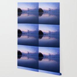 Tranquil blue nature Wallpaper