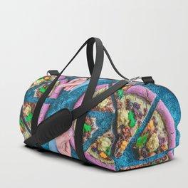 Pink Pizza Duffle Bag