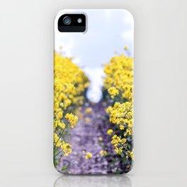 Walk Through the Yellow iPhone Case