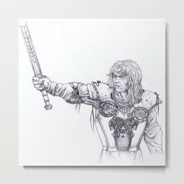 Buliwyf Metal Print