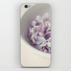 Bowl of Lilacs iPhone & iPod Skin