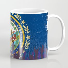 New Hampshire State Flag with Audience Coffee Mug