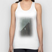 celtic Tank Tops featuring Celtic ruin  by IvanaW