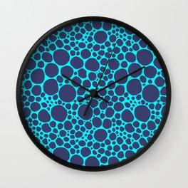 Blue Frog Wall Clock