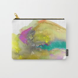 Planes in Watercolor Carry-All Pouch