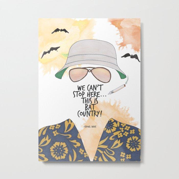 Bat Country Metal Print