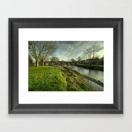 Culmstock Bridge Framed Art Print
