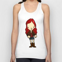 amy poehler Tank Tops featuring AMY by Space Bat designs