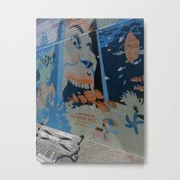 Aqua World  Metal Print