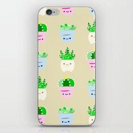 succulent 1 iPhone Skin