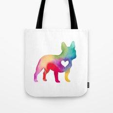 French Bulldog Love Tote Bag