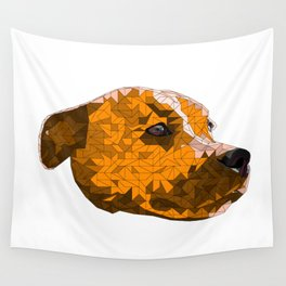 Max the Staffy Wall Tapestry