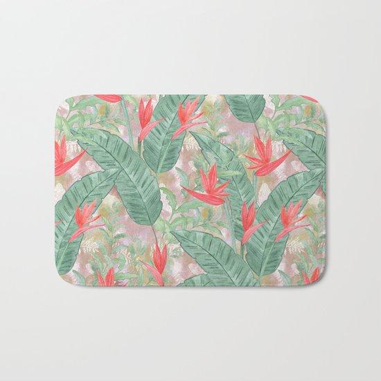 Tropical pattern 3 Bath Mat