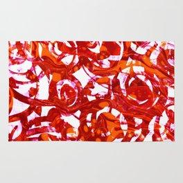orange fusion Rug