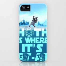Hoth is Where it's At-At iPhone Case