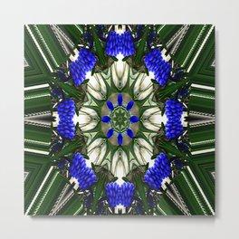 Grape Hyacinth Love.... Metal Print