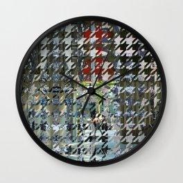 Tram as a seam. Wall Clock