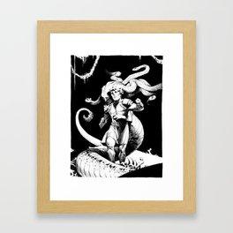 Longing Framed Art Print