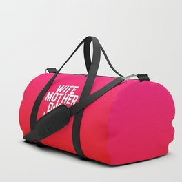 Wife Mother Dog Lover Duffle Bag