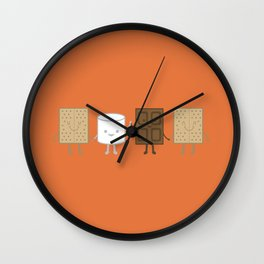 Life is S'more Fun Together Wall Clock