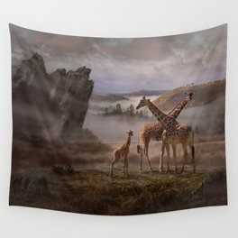 The Edge of the Earth Wall Tapestry