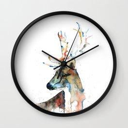 Deer - Fallow Deer Wall Clock