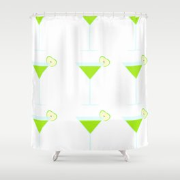 Appletini (Cocktail) Shower Curtain