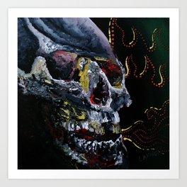 Society Skull Art Print