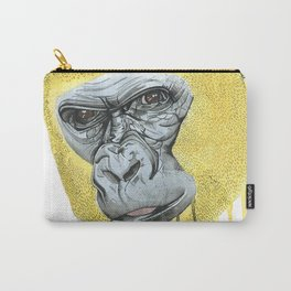 Yellow Gorilla Carry-All Pouch