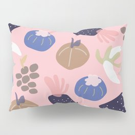 Cute pattern of fruits and vegetables Pillow Sham