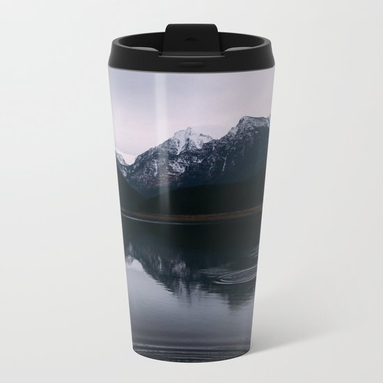 Mountain Reflections II #society6 #buyart Metal Travel Mug