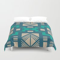 gatsby Duvet Covers featuring Gatsby by Kozza