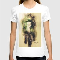 emerald T-shirts featuring Emerald by Cornelia Baciu