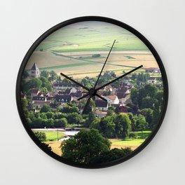 Bourgogne - Chablis Wall Clock