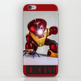 iron guy iPhone Skin