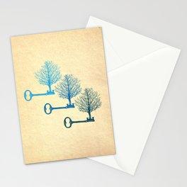 Tree Keys Stationery Cards