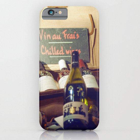 Vin au Frais: Chilled Wine iPhone & iPod Case