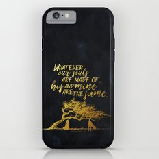 Wuthering Heights - Souls - Gold Foil iPhone 6 Tough Case