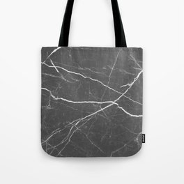 Gray marble abstract texture pattern Tote Bag